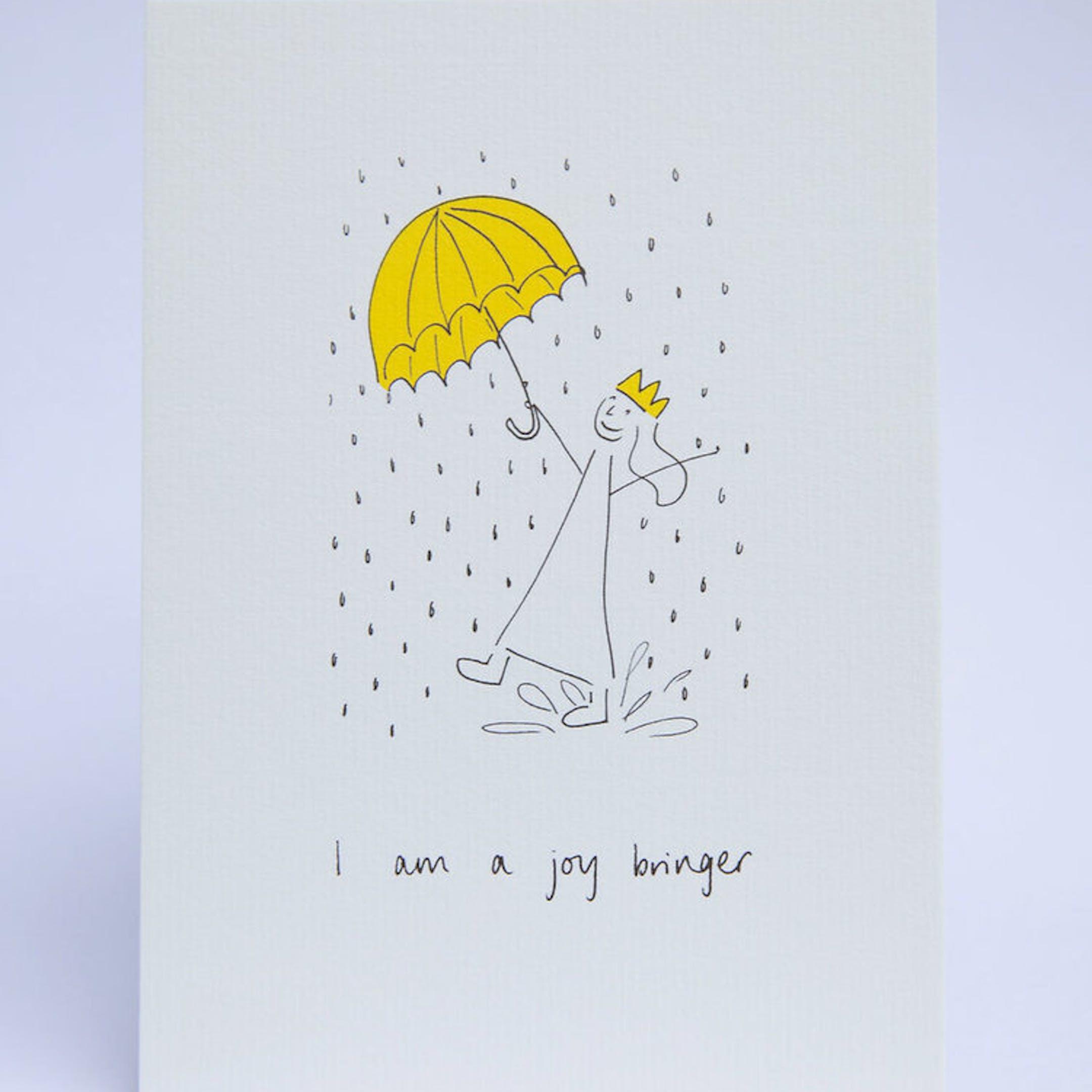 I am a joy bringer POSTCARD - SMT