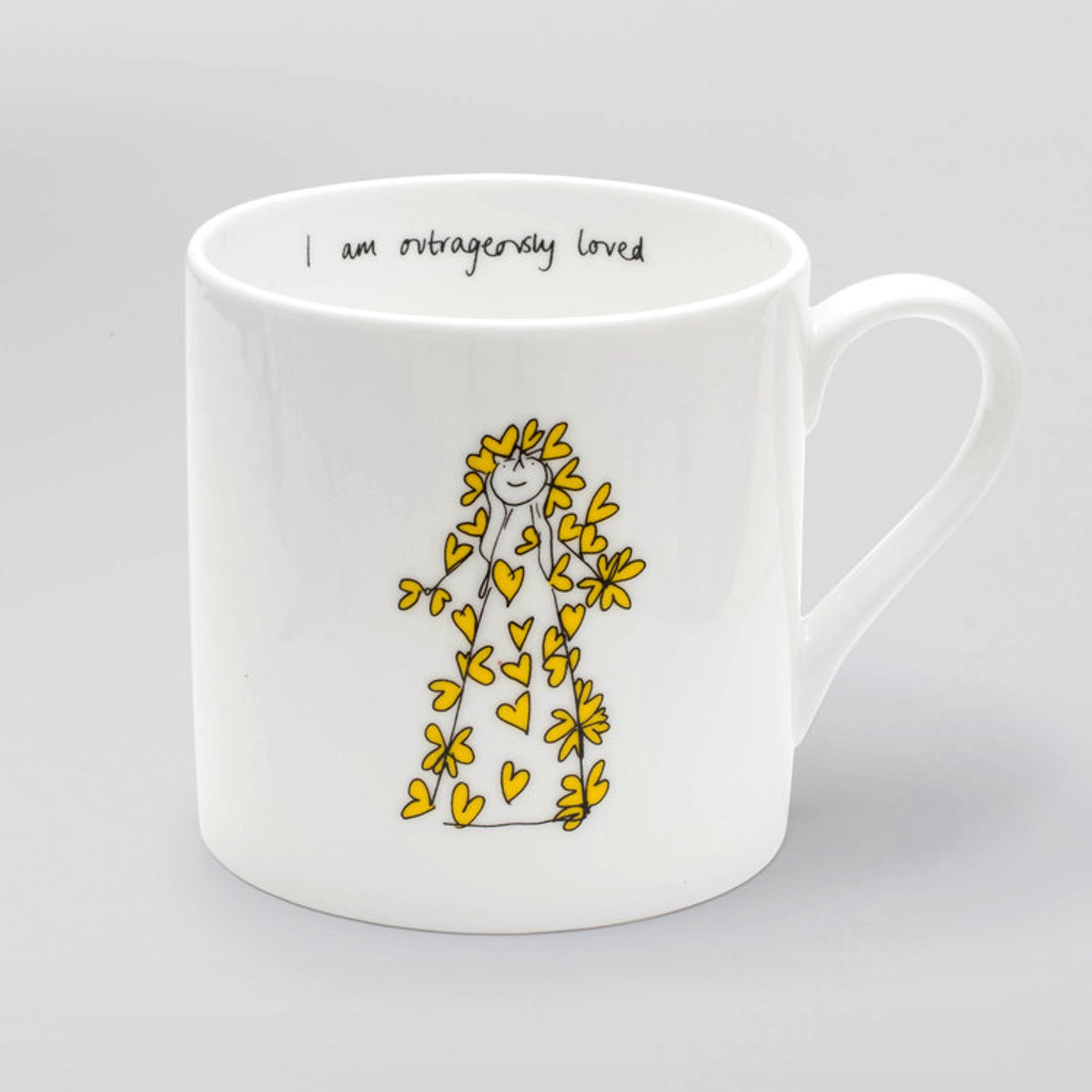 I am outrageously loved Mug - I Am So Many Things   Thea Muir   Cheerfully Given - Christian Mugs UK