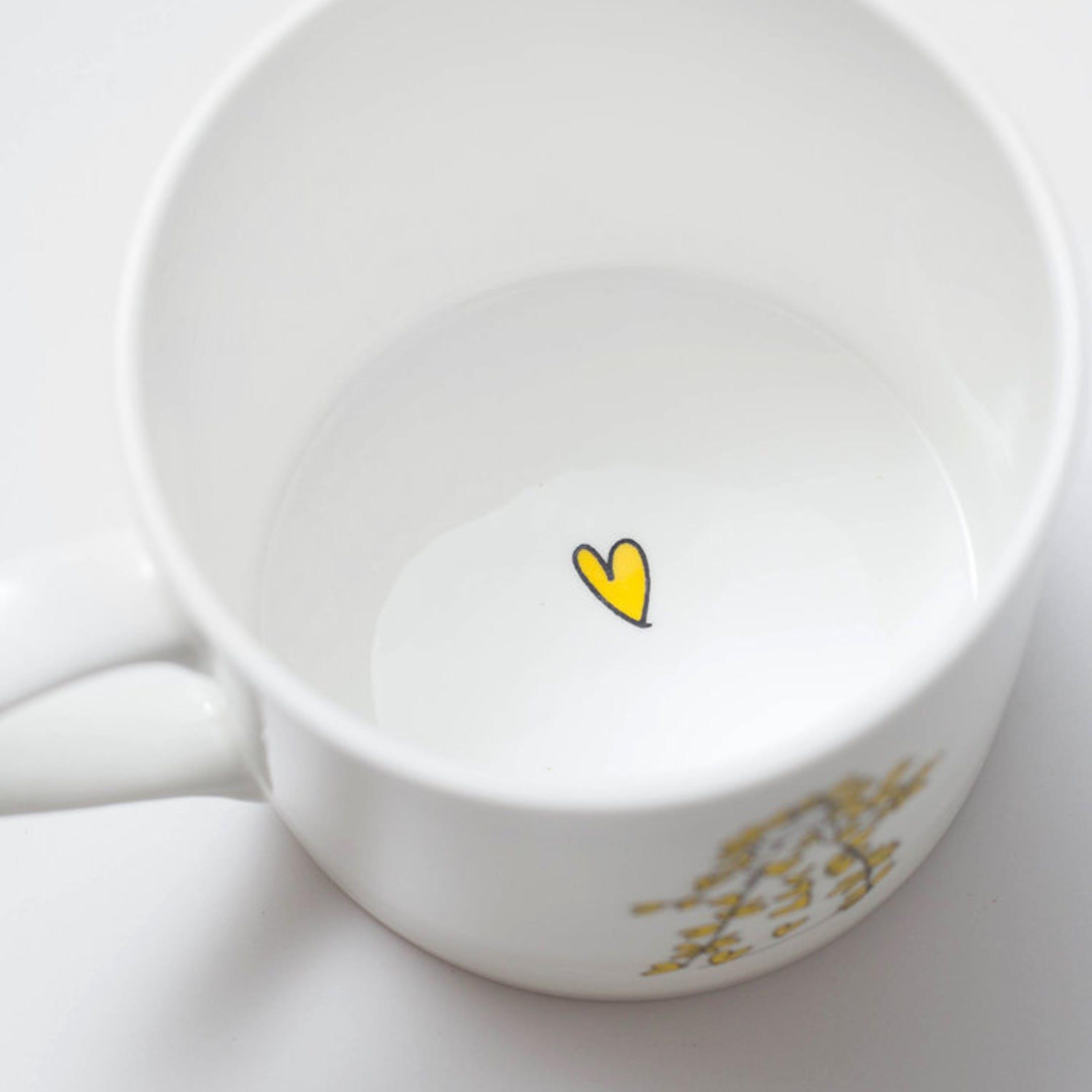 Inside of Outrageously Loved Mug - SMT