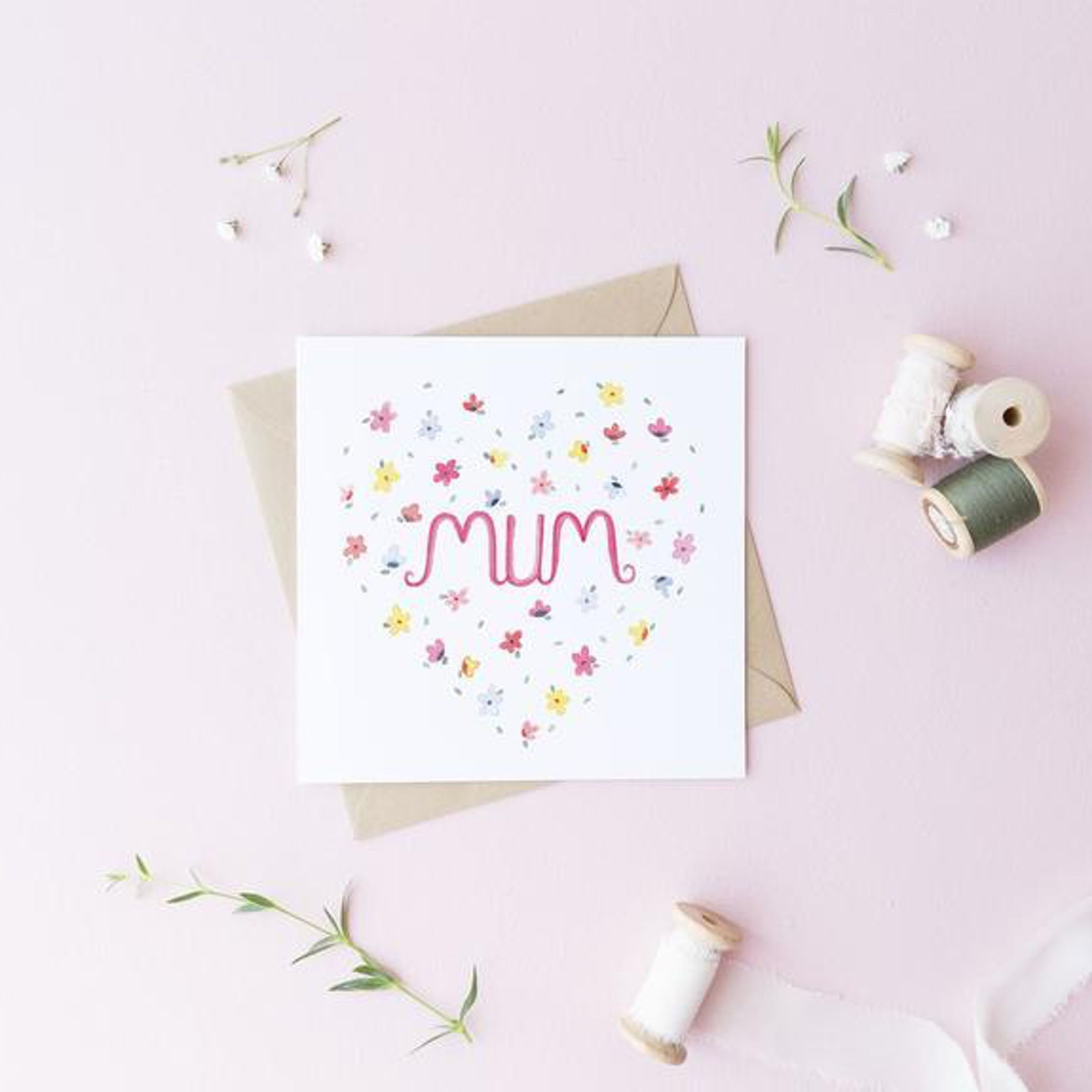 Mum Card | Treasured Creativity | Cheerfully Given - Christian Cards UK