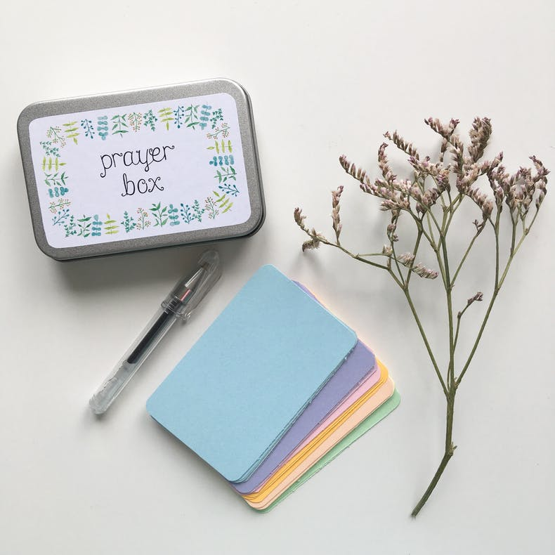 Prayer Box | Treasured Creativity | Cheerfully Given