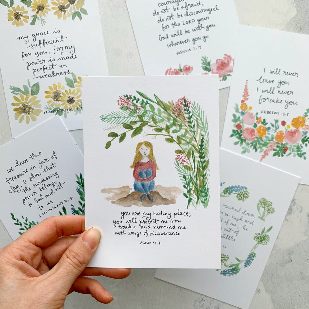 Zoeprose Scripture Cards | Zoe Powell | Cheerfully Given