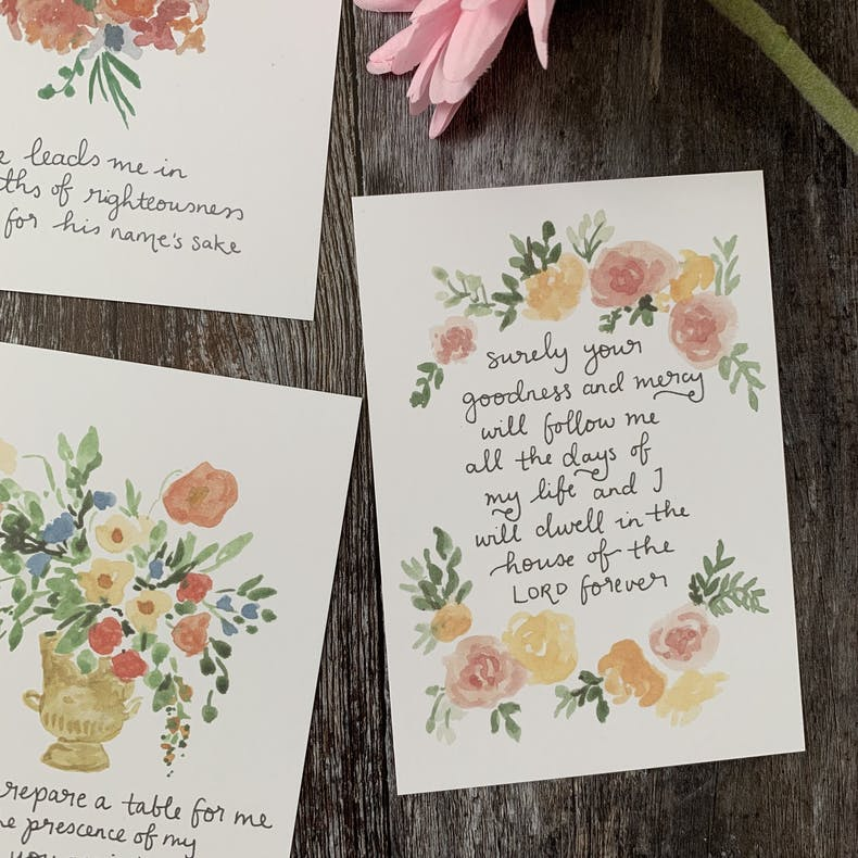 Prayer Scripture Cards | Zoeprose | Cheerfully Given