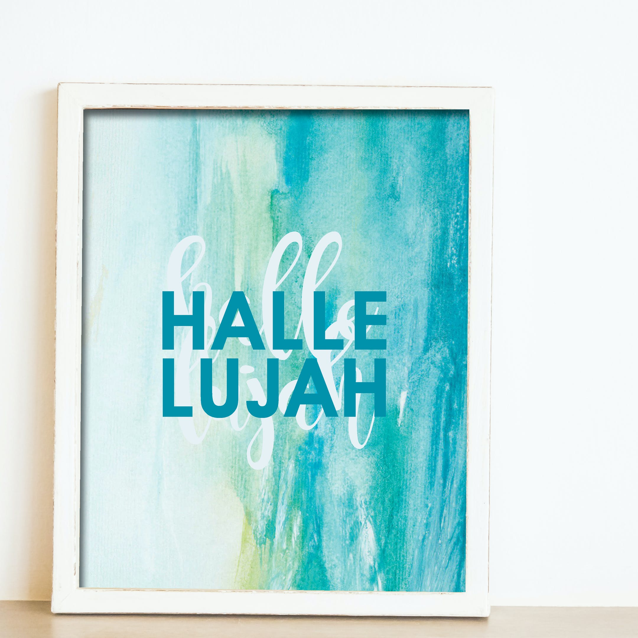 'Hallelujah' Scripture Print - Nova Grace