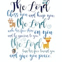 Numbers 6:24-26 Animal Bible Verse Print - Nova Grace