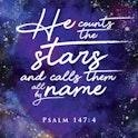 Psalm 147:4 Print - Nova Grace